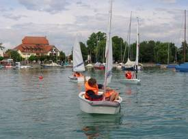 Sailing for Kids mit Optimisten, O´PEN Bic und Laser Pico